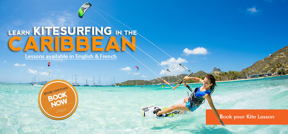 Learn Kitesurfing in the Caribbean