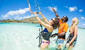 jtpro4 Kitesurfing in the Caribbean