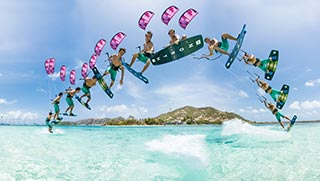 Kitesurf the Caribbean with JT Pro Center | The Best