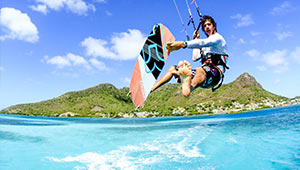 frigatte union Kitesurfing Spots of the Grenadines in the Caribbean
