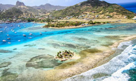 kiteschoolspot Kitesurfing Spots of the Grenadines in the Caribbean