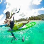 Kite Foiling in the Grenadines