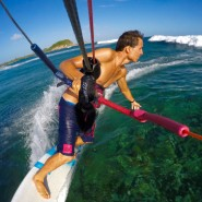Mount your Go Pro on the lines of the North Kiteboarding Bar