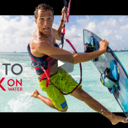 New Video – How To Walk on Water – Learn the Jesus Walk Kitesurfing Trick with Jeremie Tronet